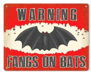 Fangs on Bats
